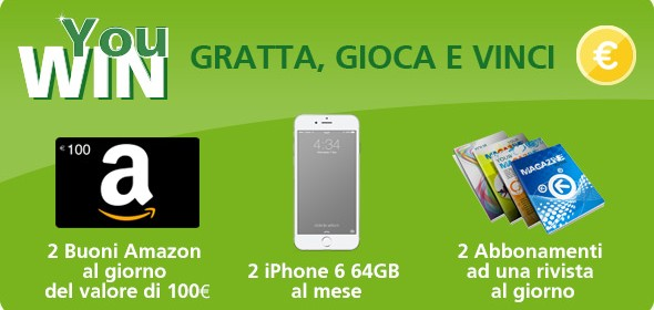 come vincere un iphone 6s 2016