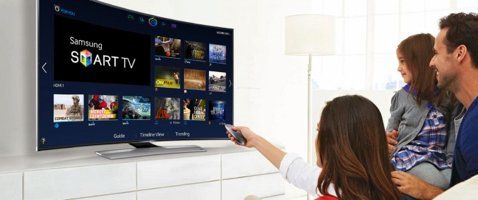 Smart TV 55 e un Samsung Galaxy Tab con Mediolanum
