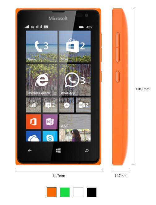 Lumia 435 in uscita il 13 febbraio al prezzo di 89 euro for Smartphone in uscita 2015