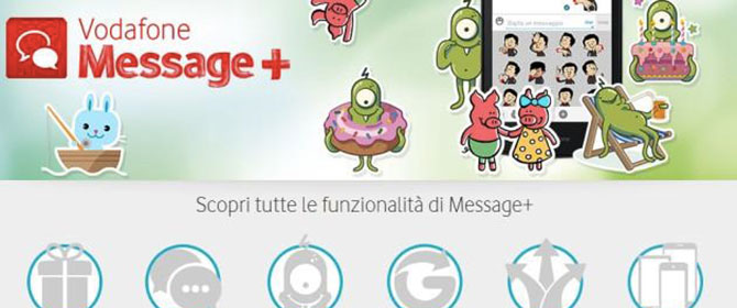 Vodafone-Message