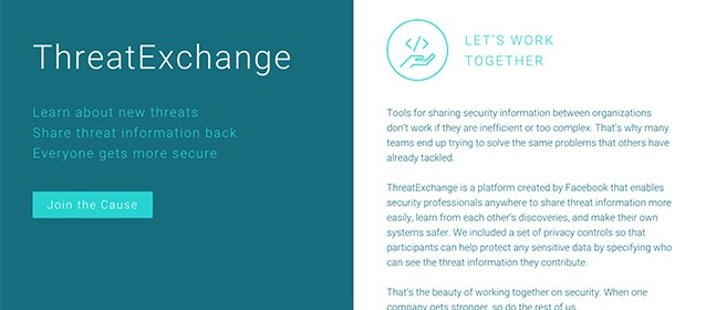 Cosa è ThreatExchange, nuovo social made in Facebook