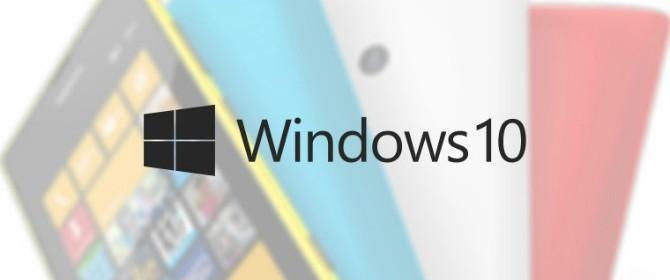 Lumia 1020 e Lumia 1520 candidati a ricevere per primi Windows 10 Mobile Technical Preview