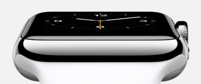Le grandi marche hanno guardato agli smartwatch solo dopo l'annuncio di Apple Watch