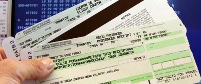 prezzo biglietti aerei