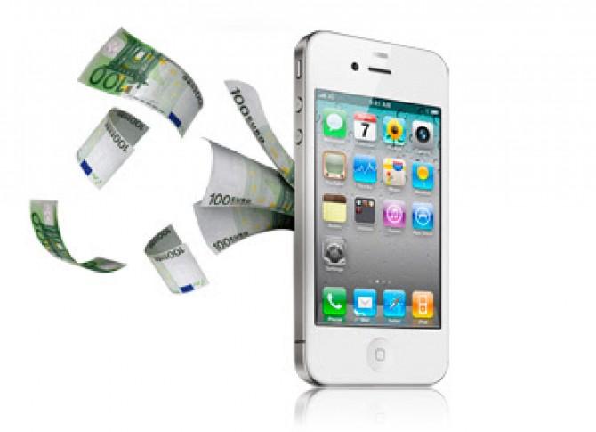 pagare con il cellulare assegno elettronico