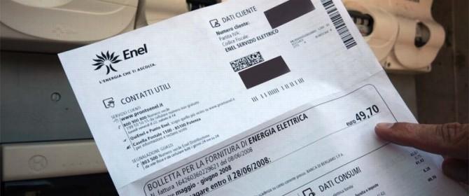 Bolletta enel come pagare for Enel gas bolletta