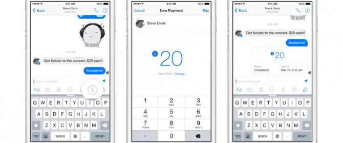 Presto anche su Facebook Messenger sarà possibile trasferire denaro tra amici