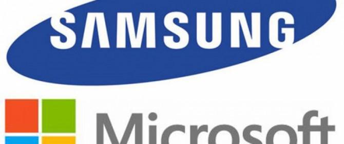 Nuova fase collaborativa tra Microsoft e Samsung