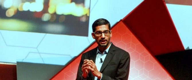 Le parole di Sundar Pichai, vicepresidente senior di Google, intervenuto al MWC 2015