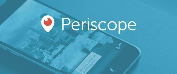 Una rapida guida al funzionamento del nuovo Periscope