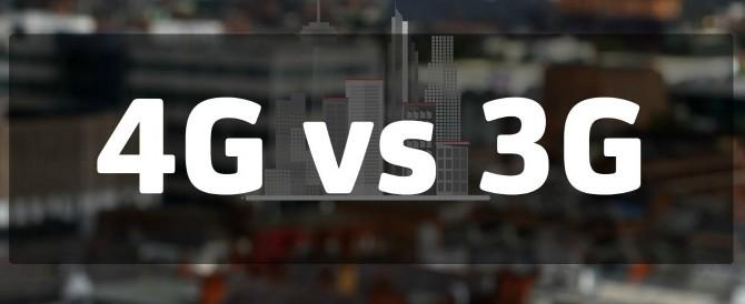 4G LTE vs 3G: velocità di connessione e tempi di latenza a confronto