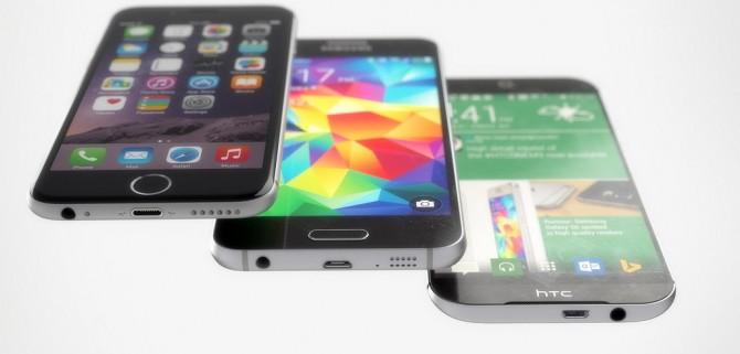 iPhone 6, Galaxy 6S o HTC One M9