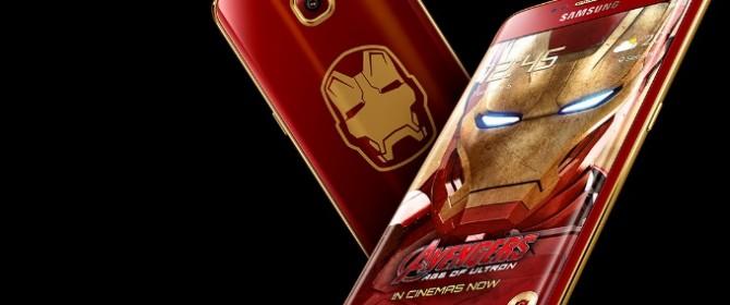 Samsung ha annunciato il lancio di Galaxy S6 edge Iron Man Limited Edition