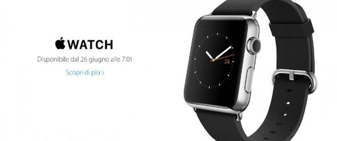Apple Watch debutta in Italia: incognita prezzi e scorte