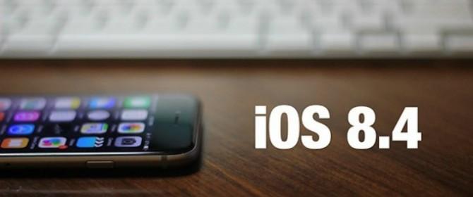 iOS 8.4 in distribuzione per iPhone e iPad