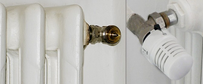 Risparmio energetico valvole termostatiche
