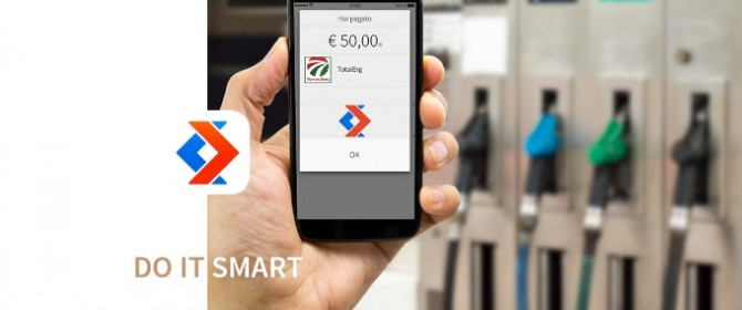 Il sistema di pagamento di Satispay per pagare nelle stazioni di TotalErg