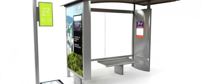 La fermata del bus connessa a Internet secondo Ericsson