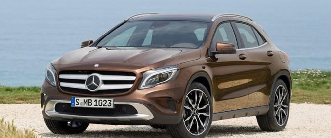 Mercedes GLA Sport con Mediolanum