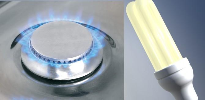 andamento consumi energia elettrica e gas