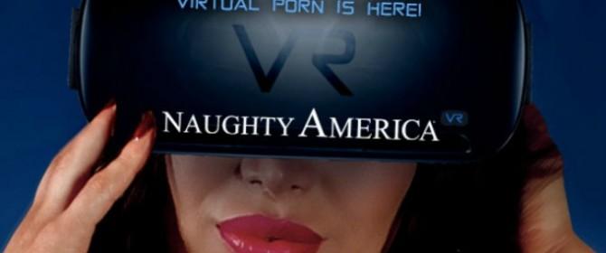 Naughty America lancia la sua prima scena porno per i visori per la realtà virtuale