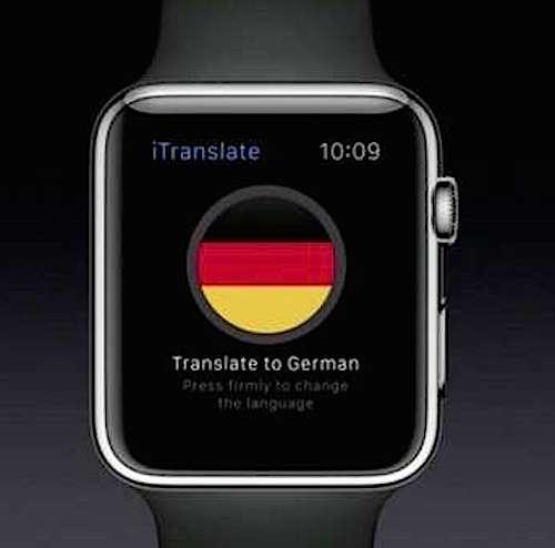 10 cose che si possono fare con apple watch for Traduttore apple