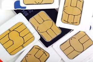 telephone sim cards