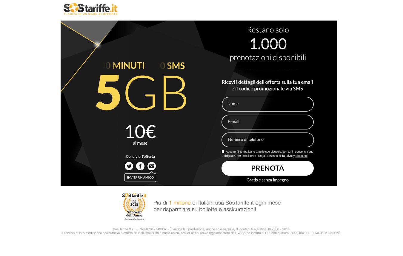 Nuovo comparatore telefonia mobile e offerta 5gb a 10 euro - Scelta dello smartphone ...