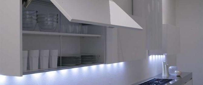 Come usare la luce a led in cucina - Luci a led per cucina ...